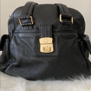 Marc by Marc Jacobs Pebbled Black Satchel Bag
